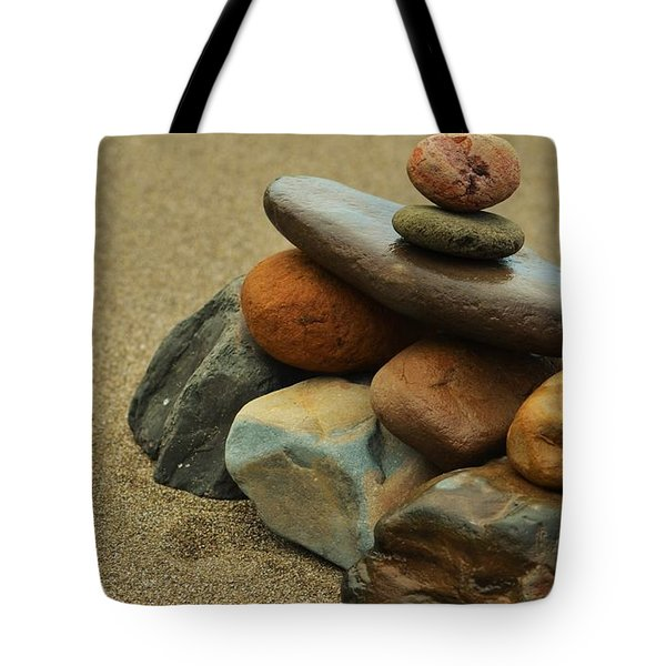Creating Balance Tote Bag by Pamela Blizzard