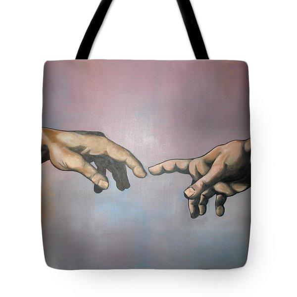 Creation Tote Bag by Brent Jones