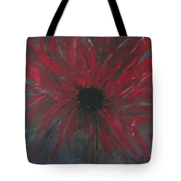 Tote Bag featuring the painting Creation Crying by Sharyn Winters