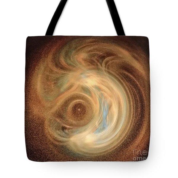 Creation Tote Bag by Diamante Lavendar