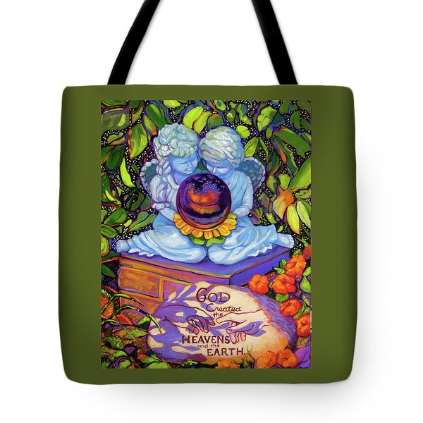 Garden Wisdom 1-creation Tote Bag