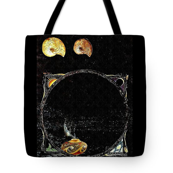 Creation Of Water Tote Bag by Sarah Loft
