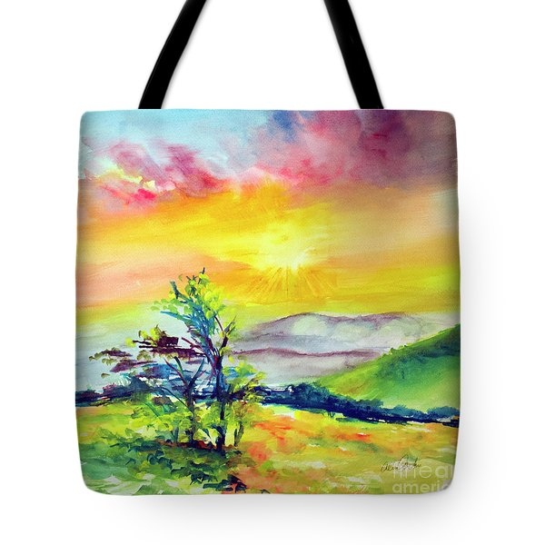 Creation Sings Tote Bag