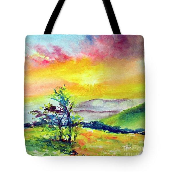 Creation Sings Tote Bag