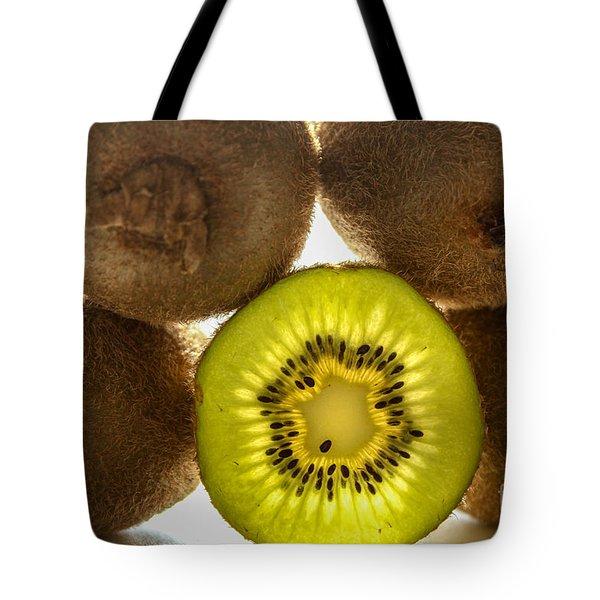 Creative Kiwi Light Tote Bag