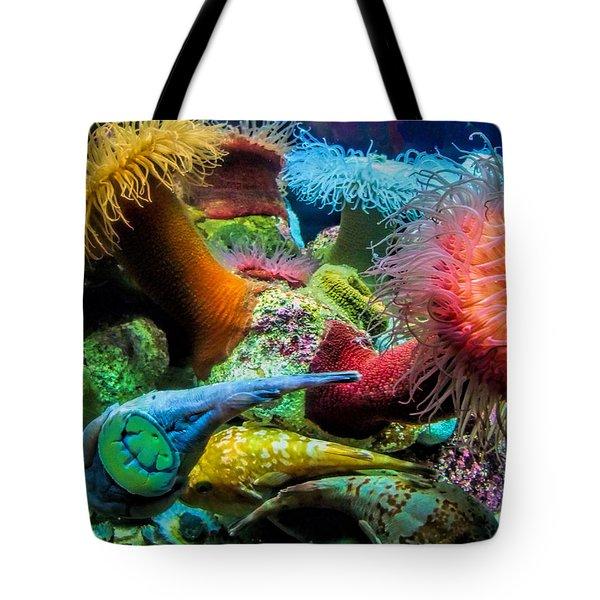 Creatures Of The Aquarium Tote Bag