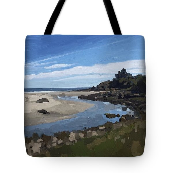 Creek At Good Harbor Beach, Gloucester, Ma., Sept. 23, 2015 Tote Bag