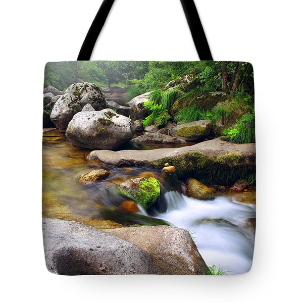 Creek Tote Bag by Carlos Caetano