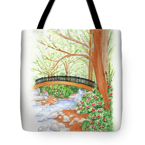 Creek Crossing Tote Bag
