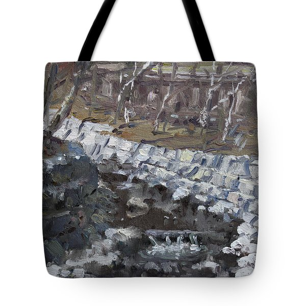 Creek In The Park Tote Bag