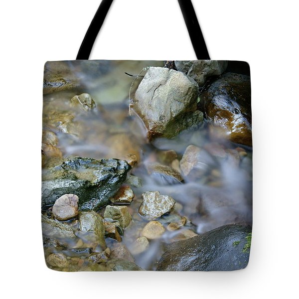 Creek On Mt Tamalpais Tote Bag