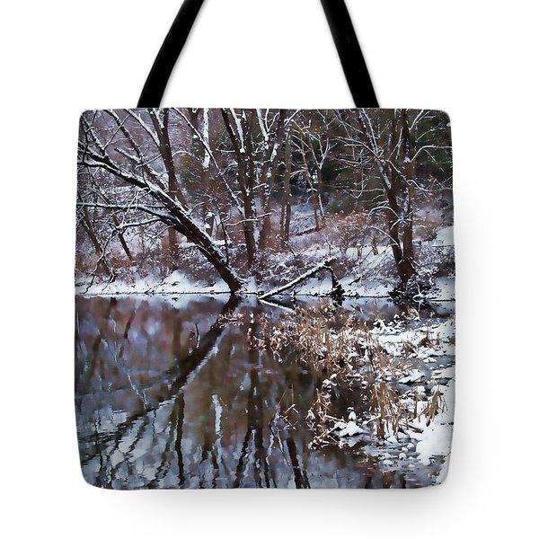 Creekside Tote Bag by Nicki McManus
