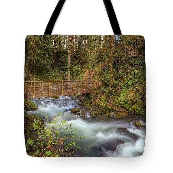 Creekside Walk Tote Bag