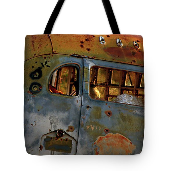 Tote Bag featuring the photograph Creepers by Trish Mistric