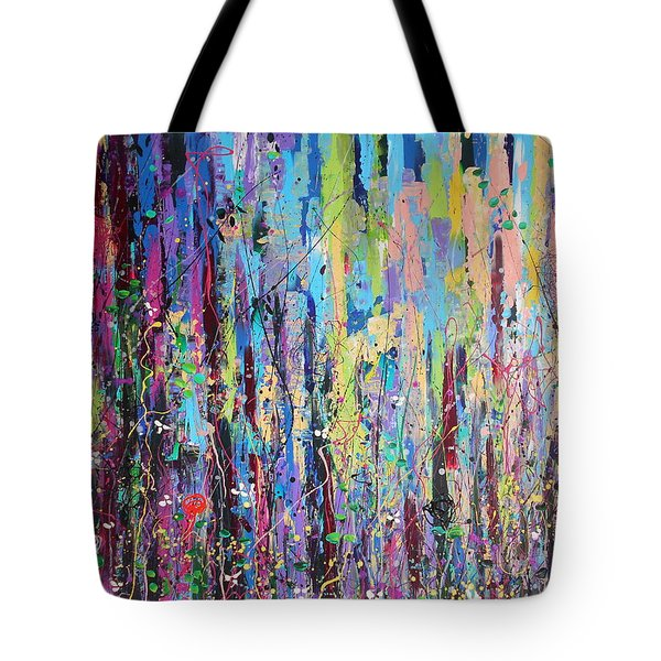 Creeping Beauty - Large Work Tote Bag