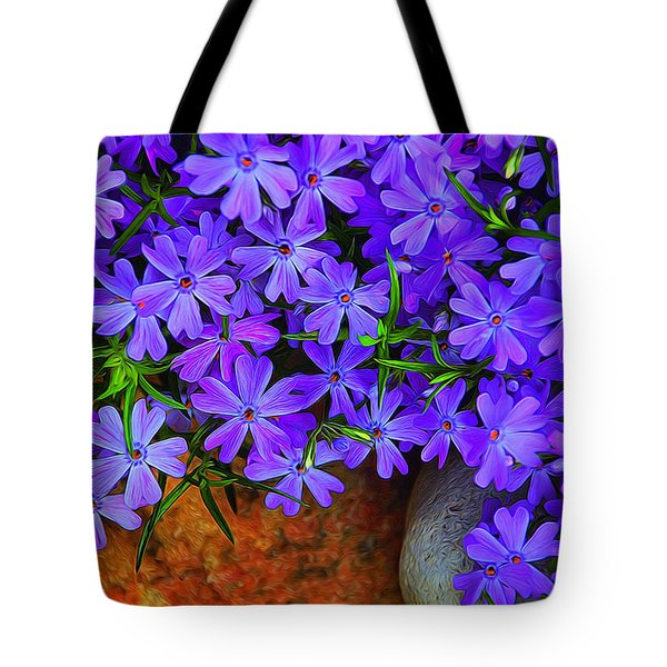 Creeping Phlox 1 Tote Bag