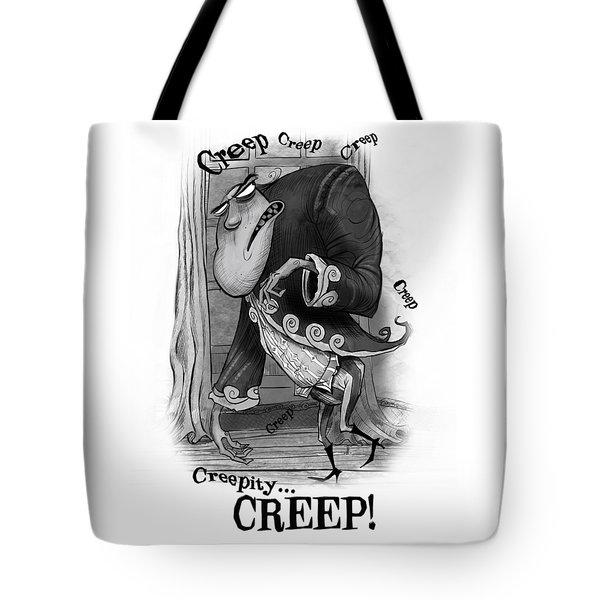 Creepy Tote Bag