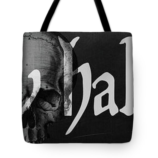 Creepy Halloween Tote Bag by Mindy Sommers