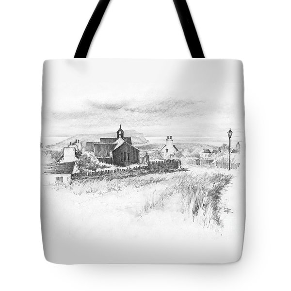 Cregneish Sketch Tote Bag