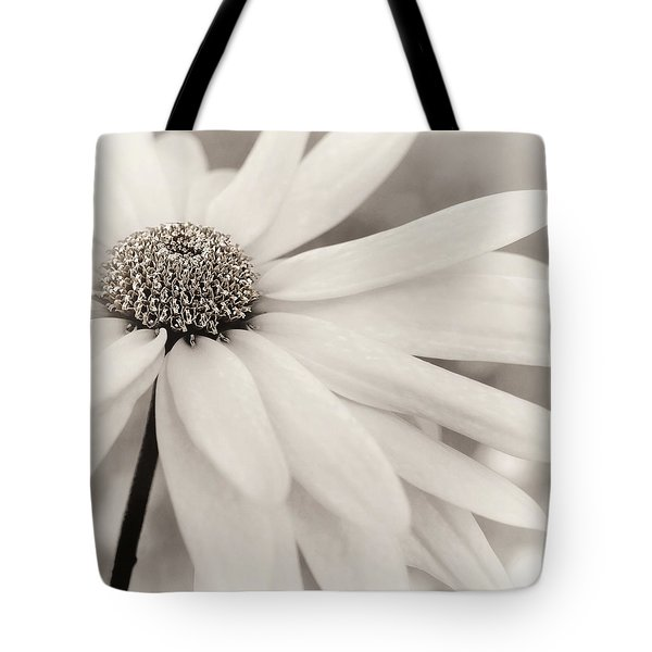 Tote Bag featuring the photograph Creme Fraiche In Black And White by Darlene Kwiatkowski