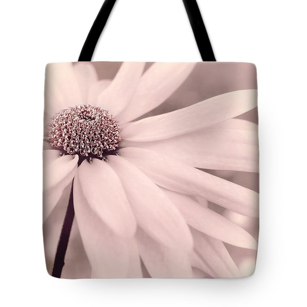 Tote Bag featuring the photograph Creme Fraiche With Hint Of Pink by Darlene Kwiatkowski