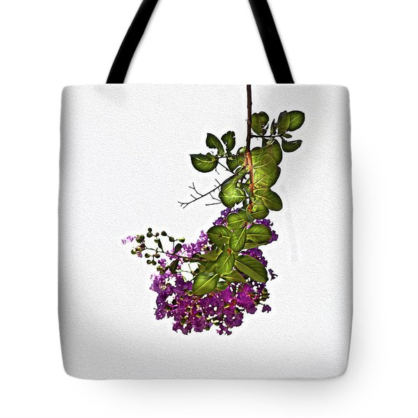 Crepe Myrtle In Oil Tote Bag
