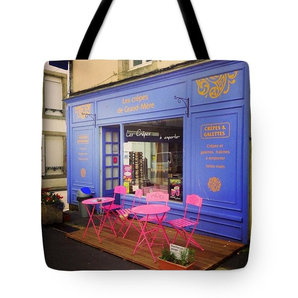 Creperie At France Tote Bag