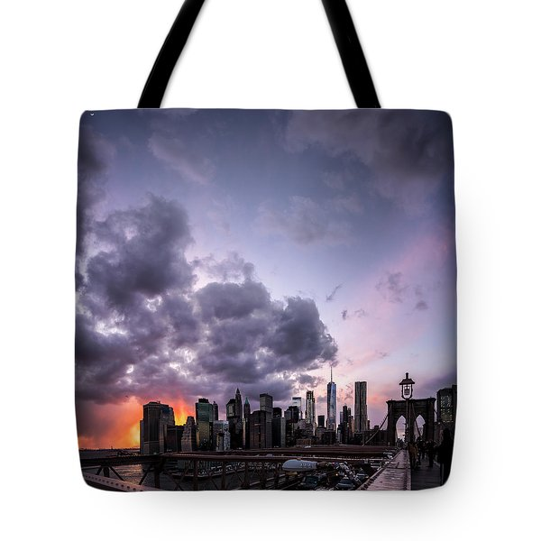 Crepsucular Nights Tote Bag