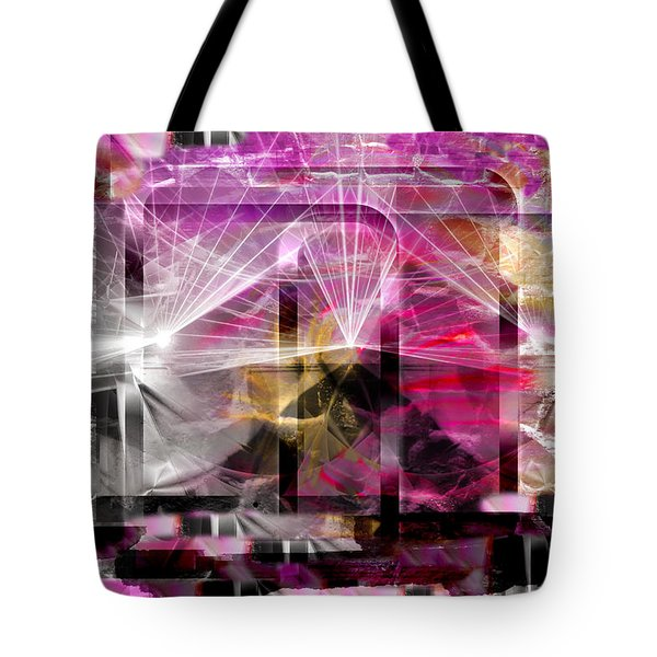 Tote Bag featuring the digital art Crescendo by Art Di