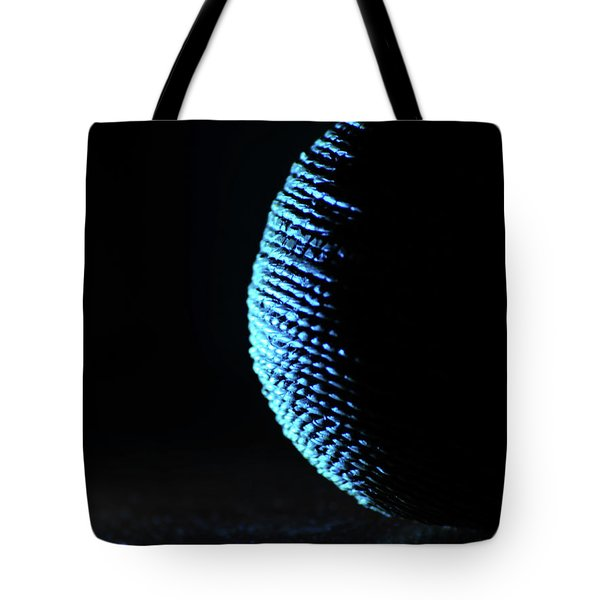 Crescent Ball In Cyan Tote Bag