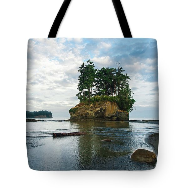 Crescent Beach Tote Bag