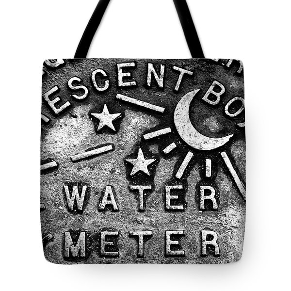 Crescent Box New Orleans Tote Bag