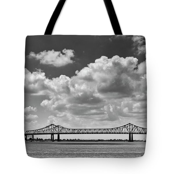 Crescent City Connection In Black And White Tote Bag