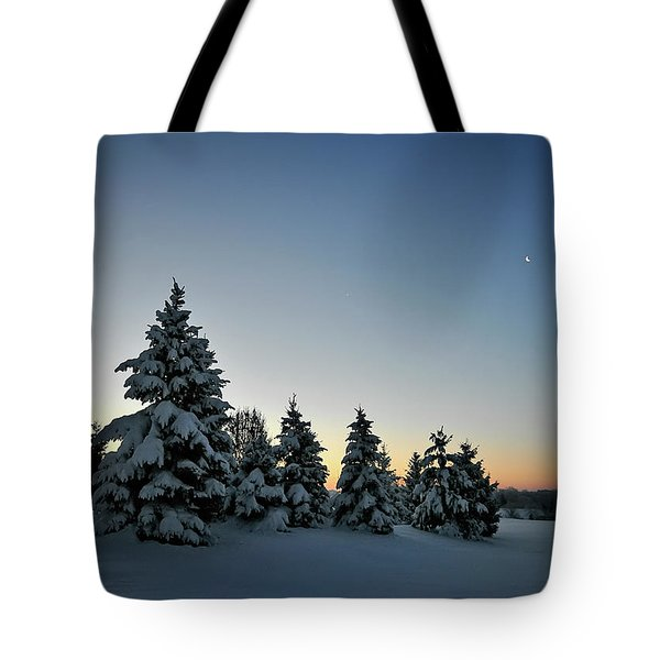 Crescent Dawn Tote Bag