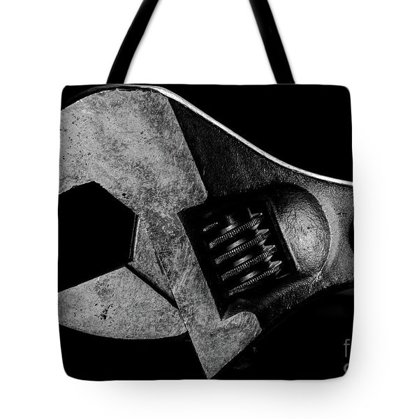 Tote Bag featuring the photograph Adjustable by Douglas Stucky