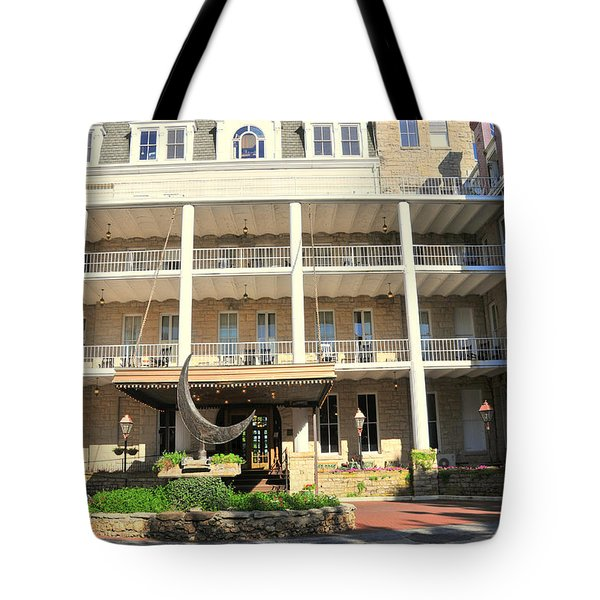 Crescent Hotel Eureka Springs Tote Bag