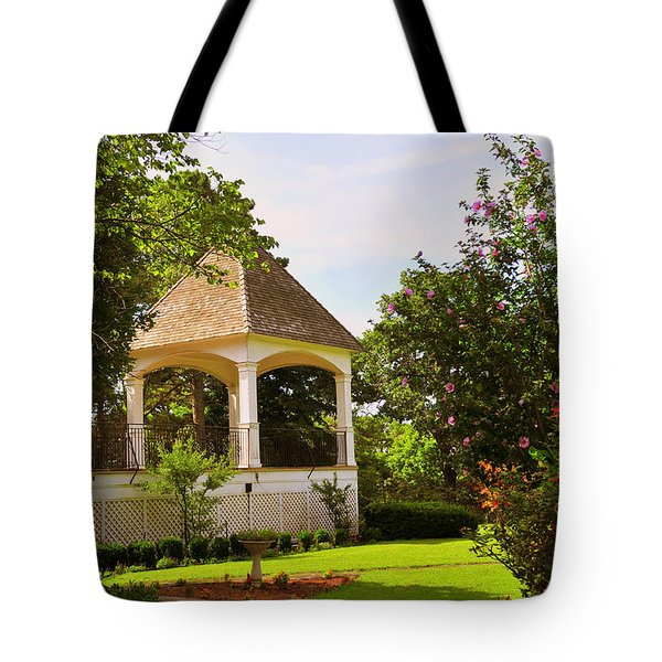 Crescent Hotel Eureka Springs Gazebo Tote Bag