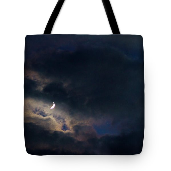 Crescent Moon In Hocking Hilla Tote Bag