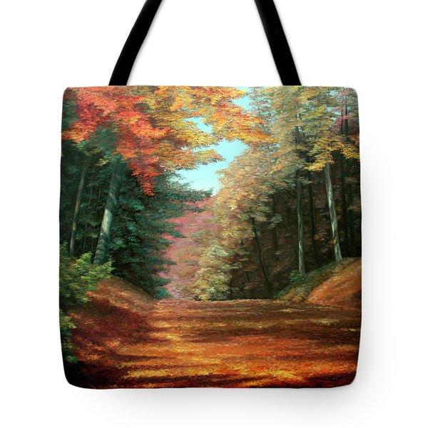 Cressman's Woods Tote Bag