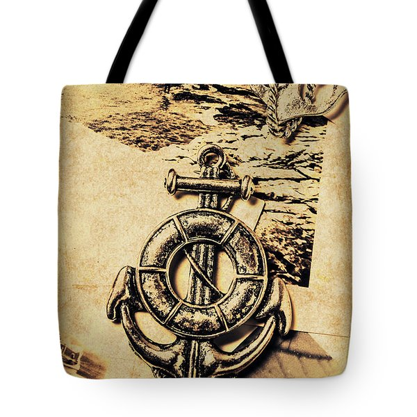 Crest Of Oceanic Adventure Tote Bag