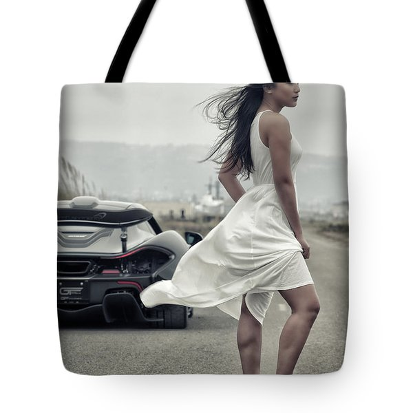 Tote Bag featuring the photograph #cresta #p1 #print by ItzKirb Photography