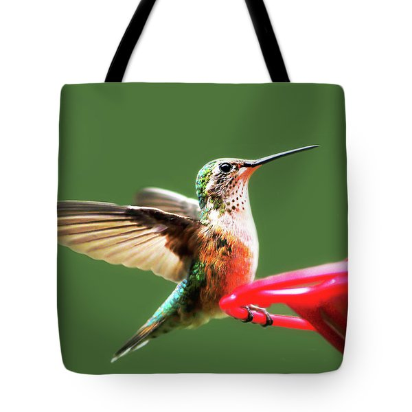 Crested Butte Hummingbird Tote Bag