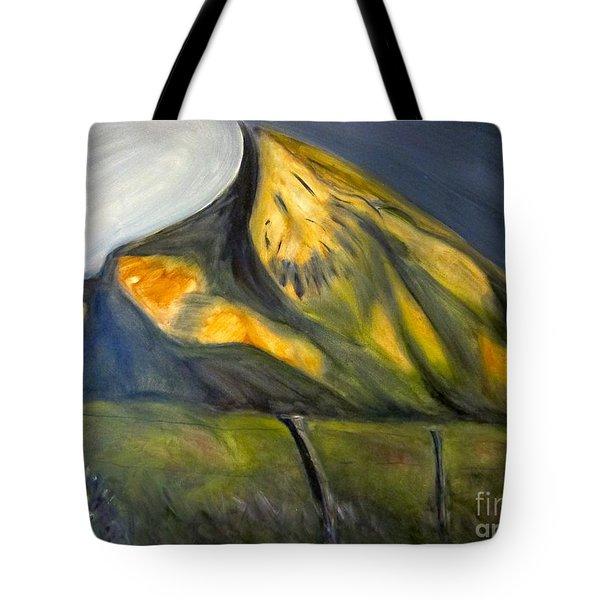 Crested Butte Mtn. Tote Bag