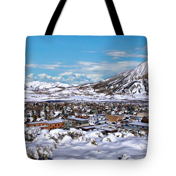 Crested Butte Panorama Tote Bag
