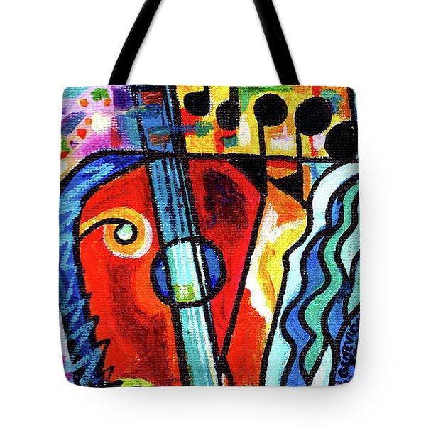 Creve Coeur Streetlight Banners Whimsical Motion 10 Tote Bag