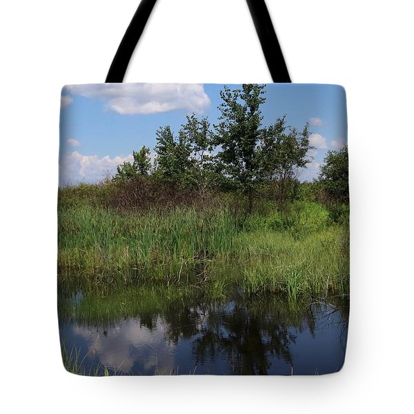 Crex Meadows Tote Bag