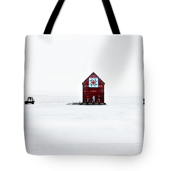 Tote Bag featuring the photograph Crib Quilt by Julie Hamilton