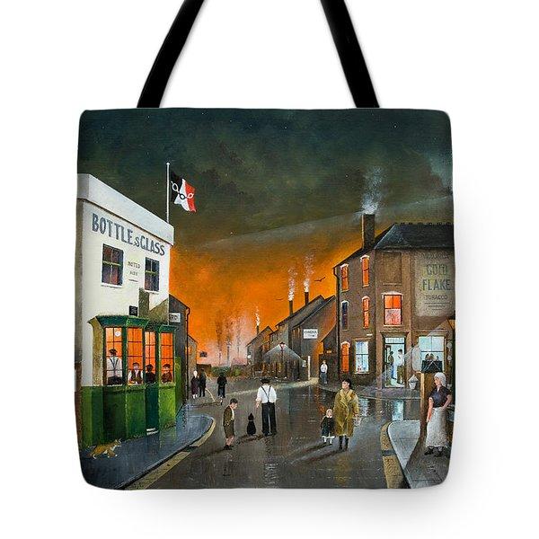 Cribnight Tote Bag