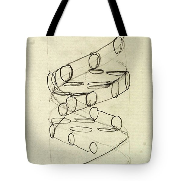 Cricks Original Dna Sketch Tote Bag