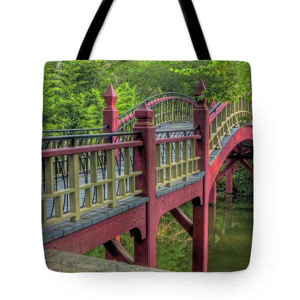 Crim Dell Bridge Summer Tote Bag